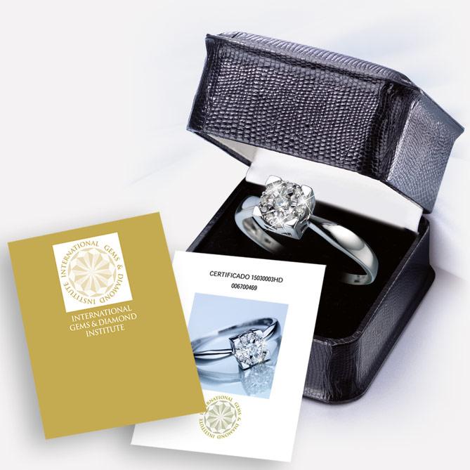 Anel Paixão De Diamantes Galeria